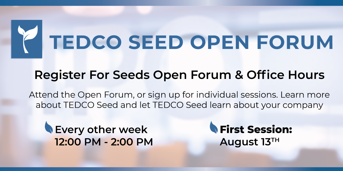 Seed Fund   TEDCO