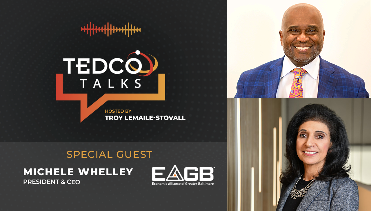 TEDCO Talks with Michele Whelley, EAGB